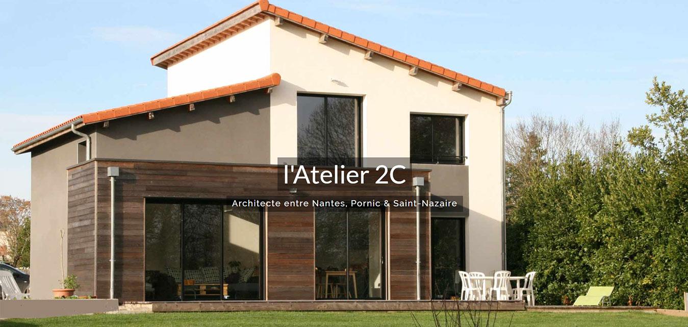 L'Atelier 2C architecte entre Nantes, Pornic et Saint Nazaire