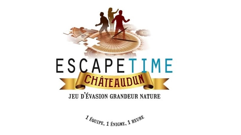 Logo Escape time - Escape Time Châteaudun